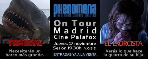 Phenomena On tour Madrid