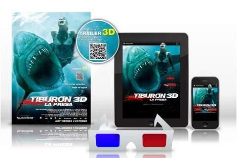 Tiburón 3D ahora en el móvil