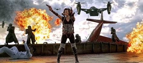 Primera imagen de Resident evil: Venganza
