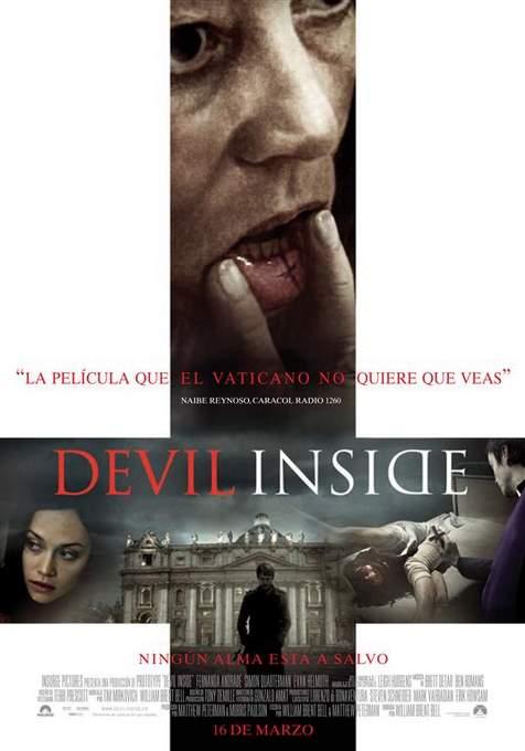 Póster de Devil Inside.