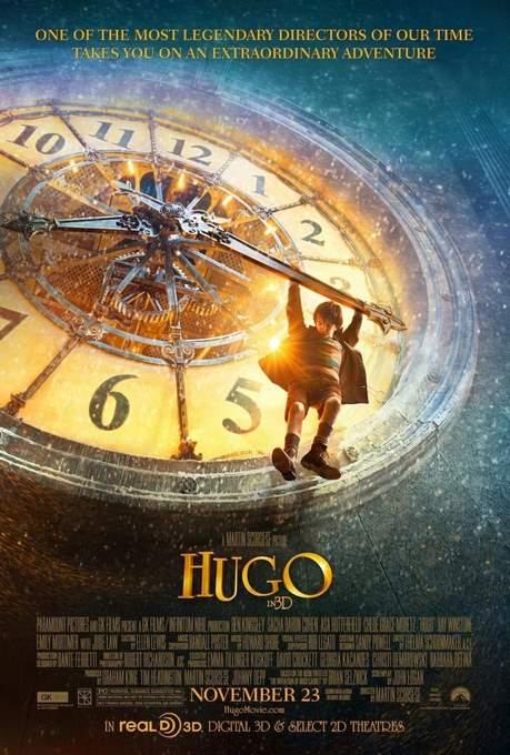 Póster de La Invención de Hugo.