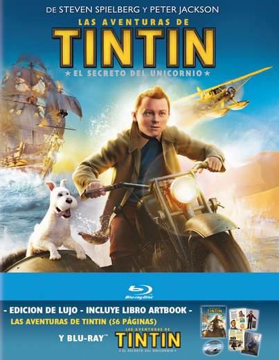 Carátula digibook de Tintín