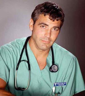 George Clooney en Urgencias.