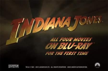 Indiana Jones colección completa en Blu-Ray.