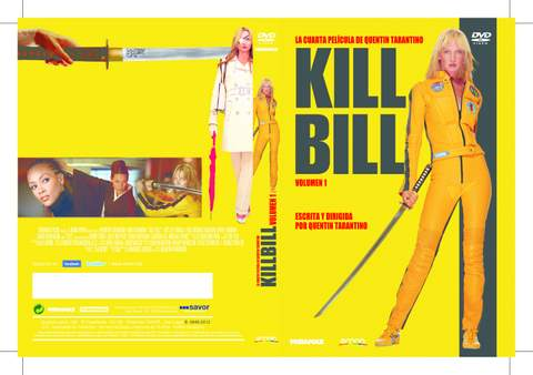 Kill Bill I. DVD.