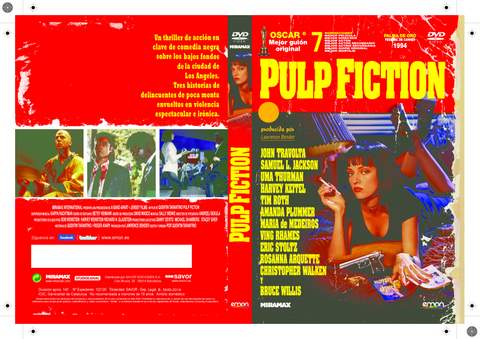 Pulp Fiction DVD.