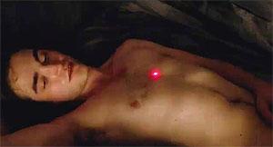Robert Pattinson desnudo.