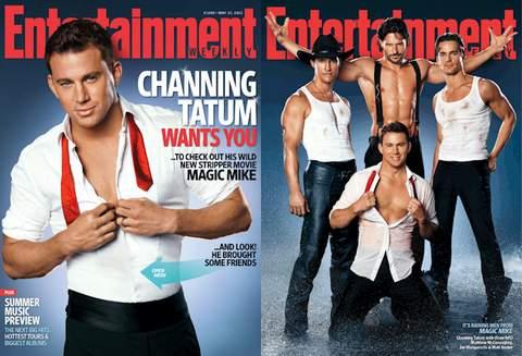 strippers de Magic Mike.