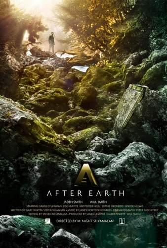 Póster de After Earth.