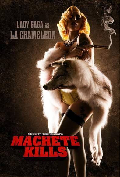 Lady Gaga actriz en Machete Kills.