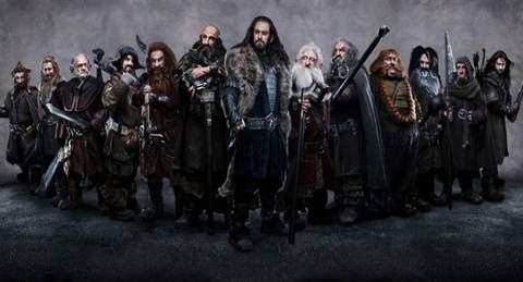 El Hobbit, enanos.