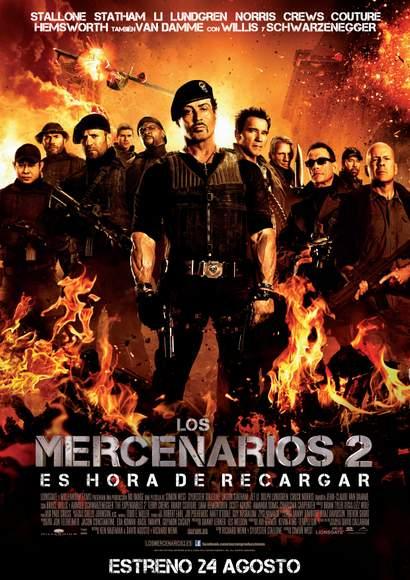 Póster Mercenarios 2.