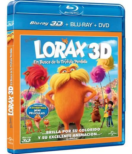 Lorax ya en Blu-ray.