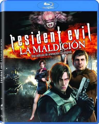 Resident Evil: La maldición en Blu-ray.