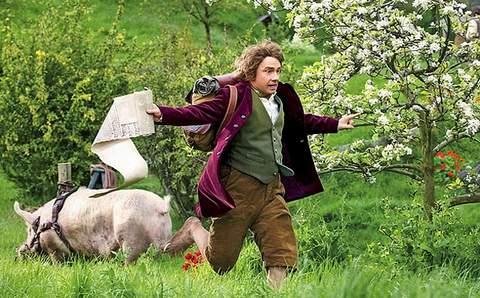 Bilbo Bolsón en El Hobbit.
