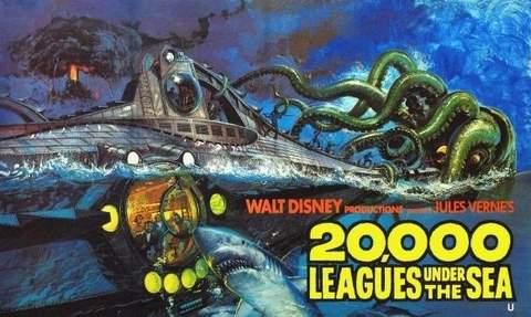 20.000 Leguas de viaje submarino.