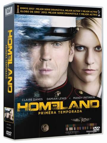 Homeland en DVD.