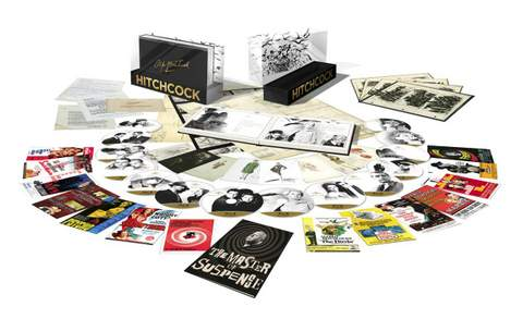 Pack promocional Alfred Hitchcock.