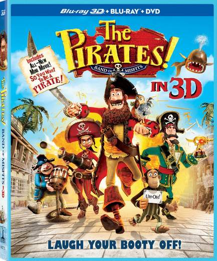 Piratas ya en DVD y Blu-ray 3D.