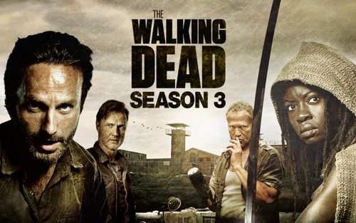 The Walking Dead Tercera temporada.