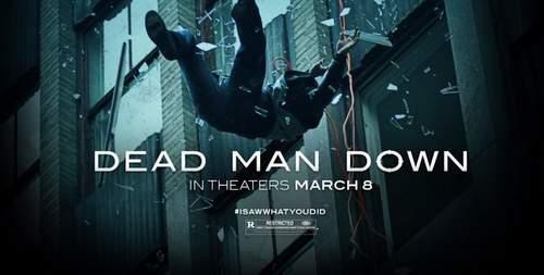 Banner de Dead Man Down.