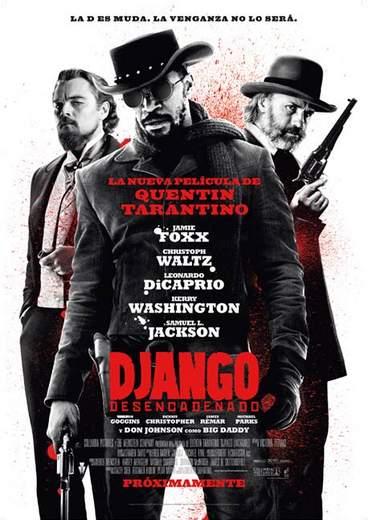 Póster de 'Django desencadenado'.