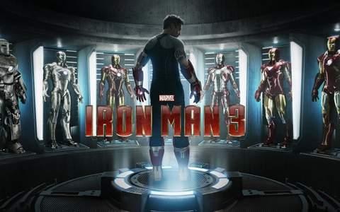 """Iron Man 3"", imagen promocional."