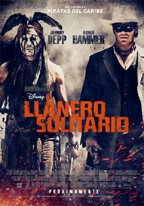 """Nuevo póster de """"El Llanero solitario""""."""