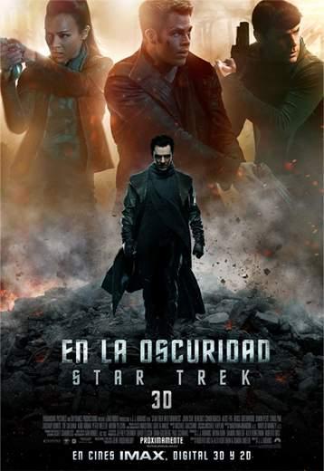 """Póster de """"Star Trek: En la oscuridad""""."""