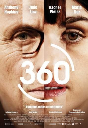 "Póster de ""360: Juego de Destinos""."