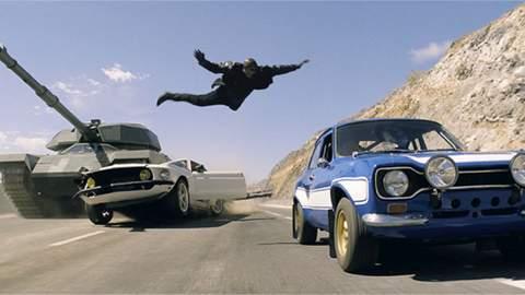 """""""Fast & Furious 6"""", imagen."""