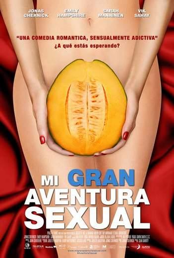 "Póster de ""Mi Gran Aventura Sexual""."