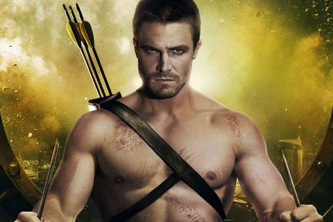 """Stephen Amell, """"50 Shades of Grey""""."""