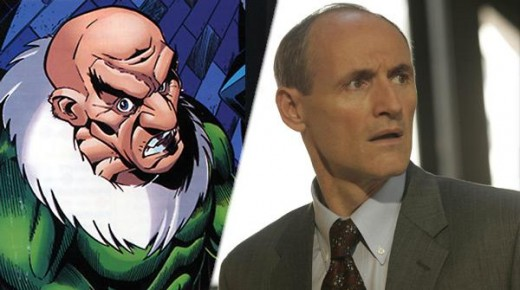 "Colm Feore El Buitre en ""The Amazing Spiderman 2""."