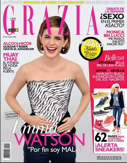 Entrevista a Emma Watson para la Revista Grazia.