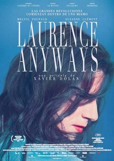 """Póster de """"Laurence Anyways""""."""