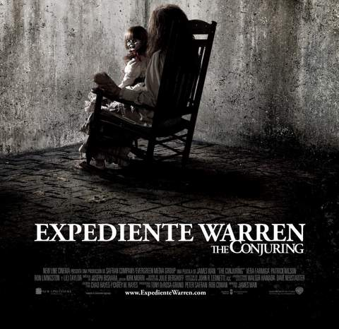 """Póster de """"The Conjuring""""."""