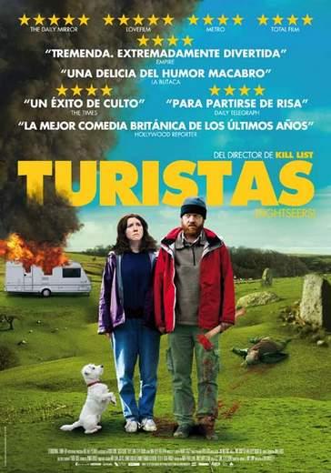 "Póster de ""Turistas""."