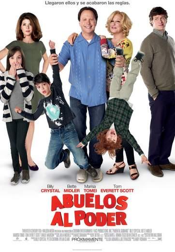 "Carátula ""Abuelos al poder""."