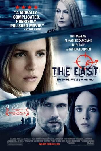 """Póster de """"The East""""."""