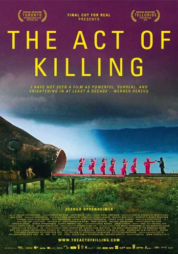 """Póster de """"The Act of Killing""""."""