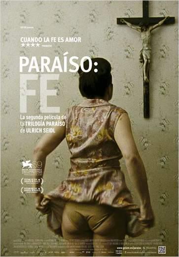 """Póster de """"Paraíso: Fe""""."""