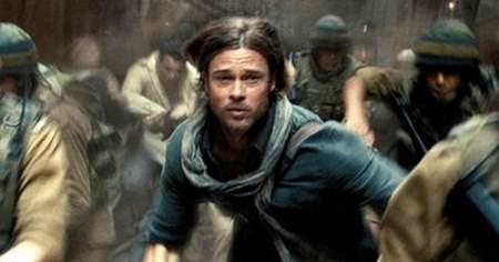 "Brad Pitt ""Guerra Mundial Z 2""."