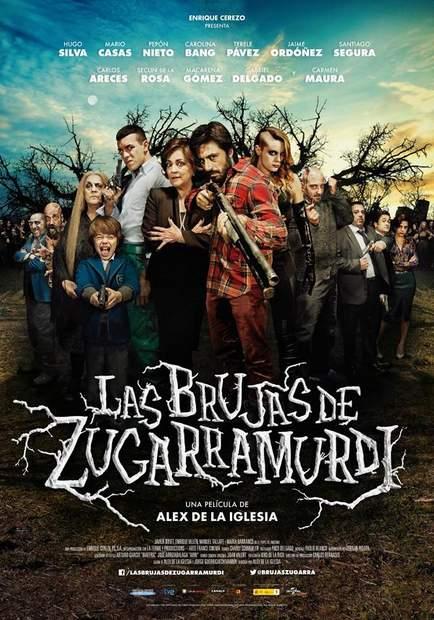 """Póster de """"Las Brujas de Zugarramurdi""""."""