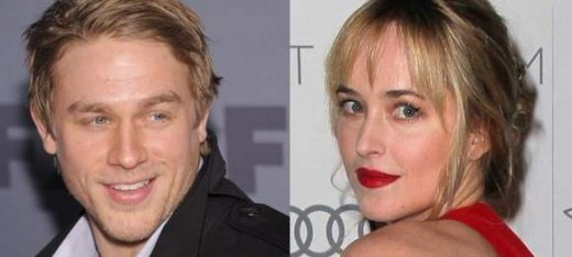 "Charlie Hunnam y Dakota Johnson en ""50 Sombras de Grey""."