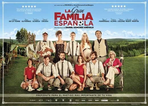 "Cartel de ""La Gran Familia Española""."