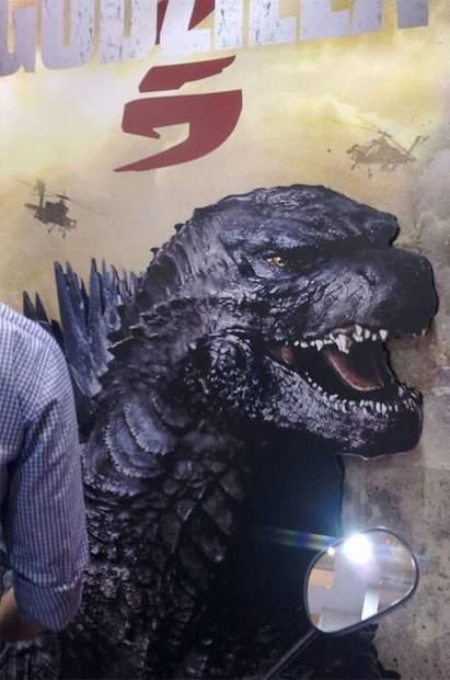 Póster nuevo Godzilla.