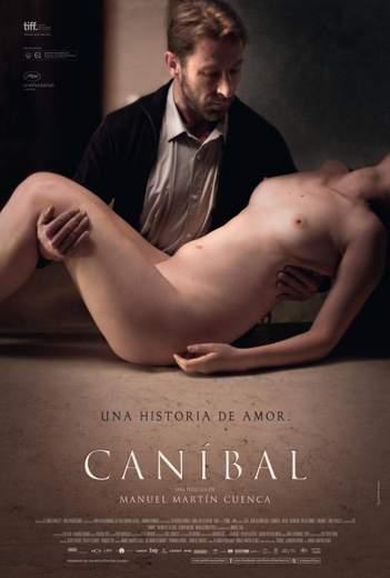 """Póster de """"Caníbal""""."""