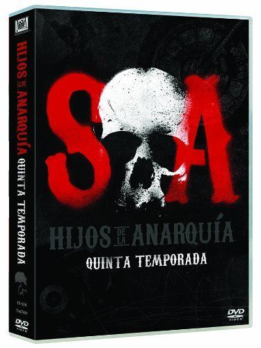 """Carátula DVD """"Hijos de la Anarquía""""."""