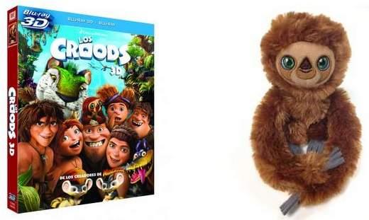 """Concurso Blu-ray 3D de """"Los Croods""""."""
